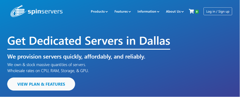 Spin Servers